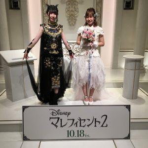 映画『マレフィセント2』公開記念 創作ドレスお披露目会