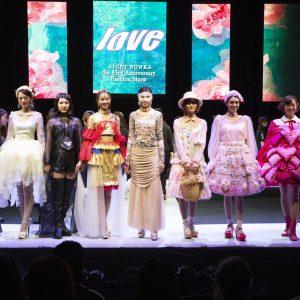 創立83周年記念ファッションショー